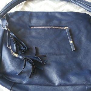 Handbags - Large blue purse.and medium size bown purse